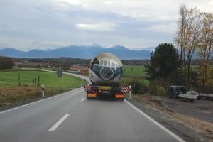 Caravelle auf der Landstraße Richtung Bad Aibling