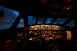 Sturm bei Nacht